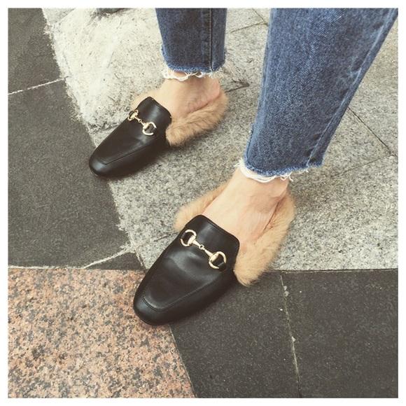Shoes   Black Women Mule Loafers   Poshmark